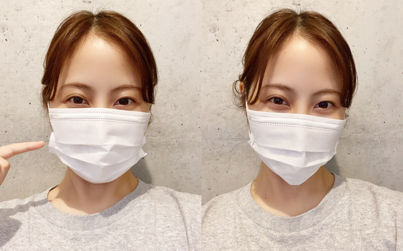 小顔マスクの作り方