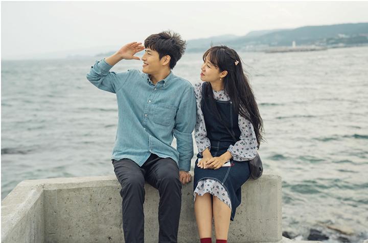 韓国ドラマ 椿の花咲く頃の場面