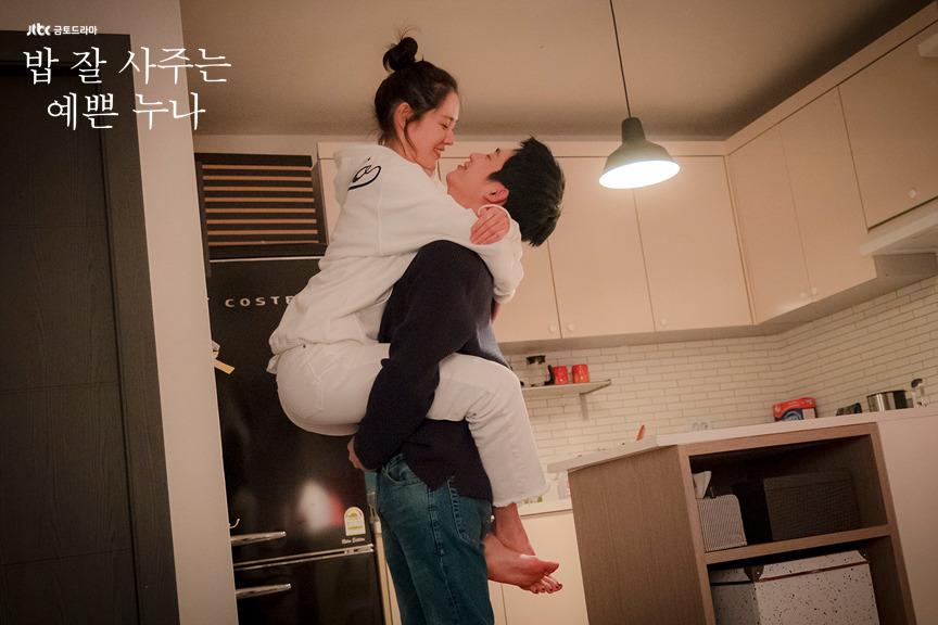 韓国ドラマよくおごってくれる綺麗なお姉さんの場面